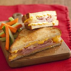 Hawaiian Grilled Cheese Sandwiches #recipe