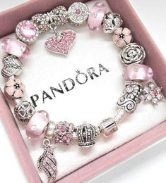 Details about Authentic Pandora Silver Charm Bracelet with Pink Love European ch. - Details about Authentic Pandora Silver Charm Bracelet with Pink Love European charms - Pandora Bracelet Pink, Pandora Bracelet Charms, Silver Charm Bracelet, Pandora Jewelry, Silver Charms, Silver Ring, Disney Charm Bracelet, Silver Earrings, Charm Braclets