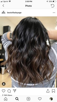 Pin by Ally Sutton on hair did 2019 dyed hair curly .-Pin von Ally Sutton auf Haar tat 2019 gefärbtes Haar lockiges Haar, Ally Sutton& Pin on Hair Done 2019 Dyed Hair Curly Hair, # colored - Brown Hair Balayage, Hair Highlights, Ombre Hair, Bayalage, Curly Hair Styles, Graduation Hairstyles, Brown Hair Colors, Hair Colour, Ponytail Hairstyles