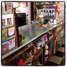 Newly remodeled front counter