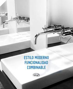 Dale a tu baño un toque de elegancia y sofisticación con este vanitorio, perfecto para darle un estilo renovado a tus espacios #Sodimac #Homecenter.