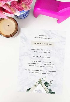 Create your dream day with these striking wedding invitations from Sail and Swan studio. Artist made and designed with love. Beach Wedding Photos, Seaside Wedding, Botanical Wedding Invitations, Beach Wedding Inspiration, Beach Wedding Decorations, Green Leaves, Neutral Colors, Swan, Greenery