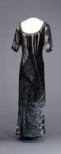 Evening Dress    1910s    Nasjonalmuseet for Kunst, Arketektur, og Design