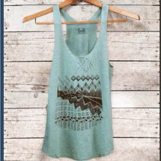Comfy summer tank top - pretty color