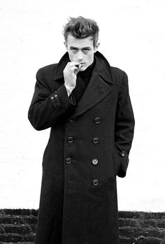 """James Dean photographed by Dennis Stock, NYC, 1955. """""""