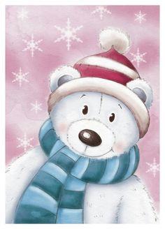 Christmas Wood, Christmas Pictures, Homemade Christmas, Christmas Crafts, Merry Christmas, Christmas Ornaments, Illustration Noel, Christmas Illustration, Christmas Drawing