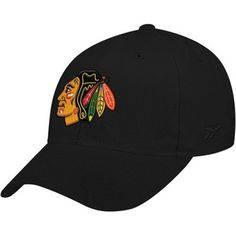 Reebok Chicago Blackhawks Basic Logo Wool Blend Hat