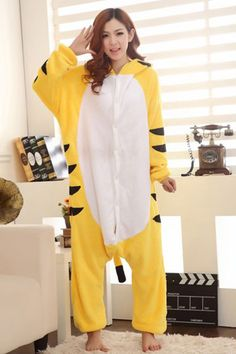 Naughty Tiger Adult Pajamas