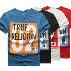 True Religion Men T-shirt All sizes True Religion Men T-shirt All sizes M-XXXL Tops Tees - Short Sleeve