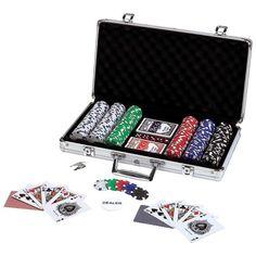 Maxam™ 309pc Poker Chip Set in Aluminum Case