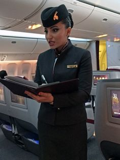 Qatar Airways cabin crew cheif