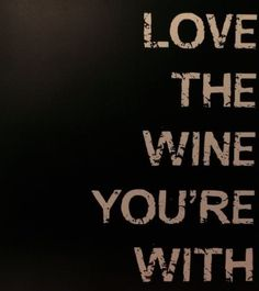 The most important rule of drinking wine.