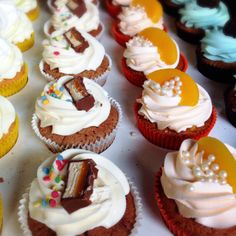 new flavors peach mars daisy cake cupcakes parsi