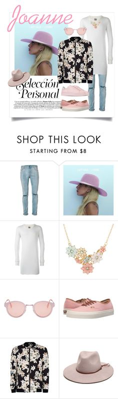"""""""Joanne"""" by tristan-fraser ❤ liked on Polyvore featuring Topman, Rick Owens, RetroSuperFuture, Vans, Gottex, Axel, men's fashion and menswear"""
