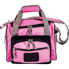 Ladies-Pink-Cooler-Camping-Bag-outdoor-cooler-travel-cooler-w-shoulder-strap