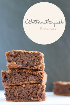Butternut Squash Brownie Recipe - Sub the flour for Otto's Cassava Flour or a grain-free baking mix.  Use a can of butternut squash puree and life will be that much easier :)