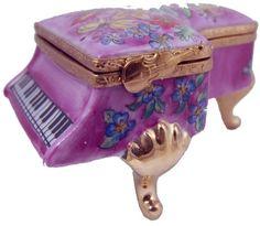 3716.jpg - Pink Flower Music Box Piano