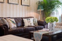 apartment interior design with modern American style interdesign