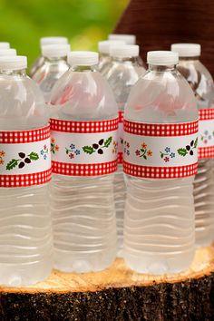 I really love the idea of relabeling bottles.