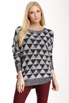 Triangle Knit Sweater