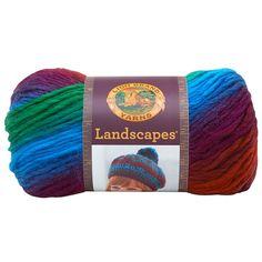 "Skein Lion Brand Yarn 545-200 Landscapes Yarn /""Tropics/""  NEW 1"