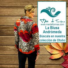 La Blusa Andrómeda: Búscala en nuestra colección de Otoño http://www.mardeformas.com/es/221-blusa-andromeda.html