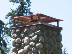 A cap should be installed on your chimney so that whatever appliance and fuel you burn, it can increase the draft – and therefore the efficiency – of your chimney.