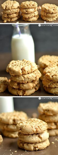 These Classic Peanut Butter Cookies are the best version around!! Perfectly moist, chewy, soft, thick, and delicious!