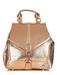 Rose gold Agate Backpack