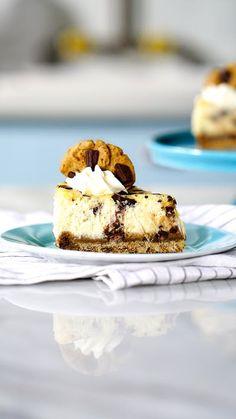 Tivemos a audácia de unir o cheesecake com cookie e o resultado ficou divino!
