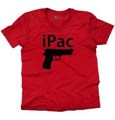 Men V-Neck T-Shirt | iPac