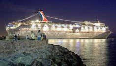 Cruiseship in Ensenada
