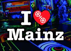 Mainz Germany, Frankfurt, Neon Signs, 3d, Portraits, Inspiration, Fine Dining, Miniature Golf, Black Lights
