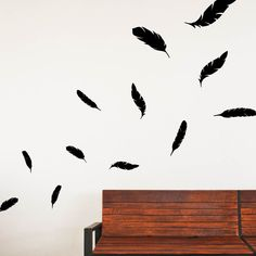Falling Feathers | Wall Decals Design Packs | Walls Need Love