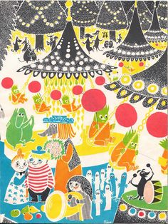 'Who Will Comfort Toffle?' by Finnish illustrator and writer Tove Jansson (translated by Kingsley Hart), published by Schildts, 1960 Tove Jansson, Mary Blair, Children's Book Illustration, Illustrations Posters, Book Art, Design Art, Drawings, Artwork, Prints