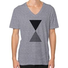 Time V-Neck (on man) Shirt