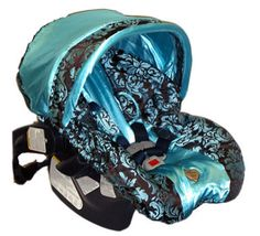 Baby Bella Maya Infant Car Seat Cover Leopard