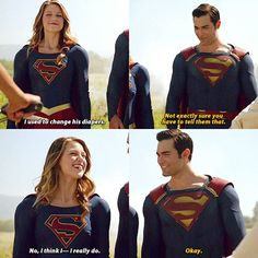 #Supergirl #Superman