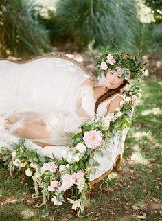 Whimsical Vintage Styled Bridal Boudoir - Fab You Bliss