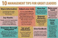 10 management tips, source Kenneth Lynard through LinkedIn