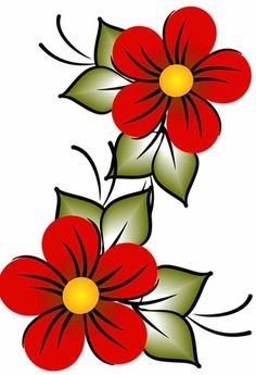 Painted Flower Pots, Painted Pots, Tole Painting, Fabric Painting, Image Deco, Stained Glass Designs, Hand Embroidery Designs, Beading Patterns, Flower Designs