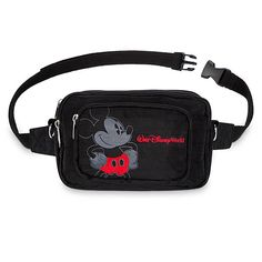 Keep your hands free while you tote your essentials around Walt Disney World in swell style with this Mickey Mouse hip pack. The convertible design means this convenient bag can be worn around the waist or over the shoulder. Tokyo Disneyland, Disneyland Resort, Disney Races, Resort Logo, Mickey Mouse Club, Disney Sketches, Ear Hats, Walt Disney World, Fashion Bags