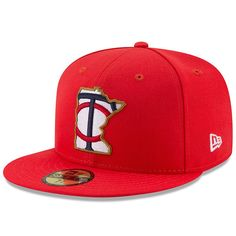 Minnesota Twins New Era Youth 2017 Players Weekend 59FIFTY Fitted Hat - Red