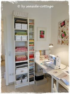 seaside-cottage sewingroom - new style