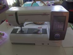 Janome Horizon Memory Craft MC8900 sewing quilting machine #Janome