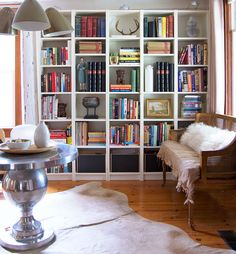 Bookcase styling and other things that make you swear.