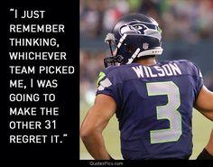 Seattle Seahawks #3 Russell Wilson
