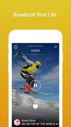 Stream your life with TVibes. Download it from the app store!