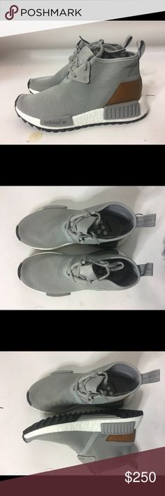 Adidas NMD C1 TR Chukka Ultra Boost Trail Size 5 Adidas NMD C1 TR S81835 Chukka Ultra Boost Trail Solid Grey Brown DS size 5 adidas Shoes Ankle Boots & Booties