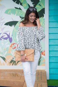 Timeless Optimist blog | petite fashion, macys, nordstrom, kohls, off the shoulder top, white jeans, denim and supply ralph lauren, paige jeans, outfit, casual, chic, style, cute, classy, 2017, stylish, vacation, cruise, Mexico, Jamaica